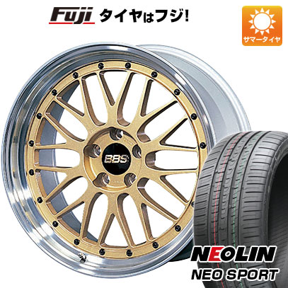 【送料無料】 225/35R19 19インチ BBS JAPAN BBS LM 8J 8.00-19 NEOLIN ネオリン ネオスポーツ(限定) サマータイヤ ホイール4本セット