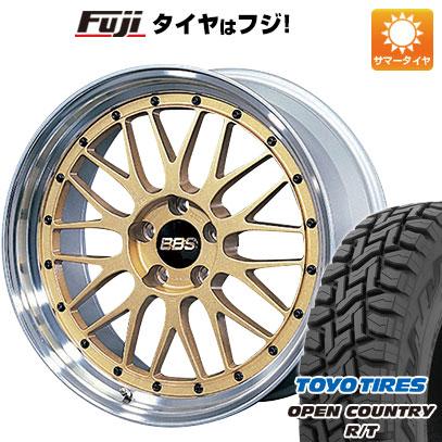【送料無料】 225/65R17 17インチ BBS JAPAN BBS LM 7.5J 7.50-17 TOYO トーヨー OPEN COUNTRY R/T サマータイヤ ホイール4本セット