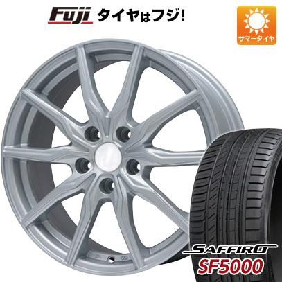 【送料無料】 215/60R16 16インチ BRANDLE ブランドル 008 7J 7.00-16 SAFFIRO サフィーロ SF5000(限定) サマータイヤ ホイール4本セット