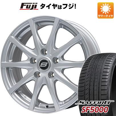 【送料無料】 185/65R15 15インチ BRANDLE ブランドル M71 6J 6.00-15 SAFFIRO サフィーロ SF5000(限定) サマータイヤ ホイール4本セット