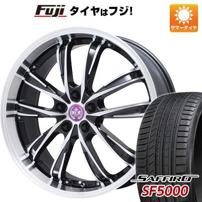 【送料無料】 225/40R19 19インチ BRANDLE ブランドル 486B 8J 8.00-19 SAFFIRO サフィーロ SF5000(限定) サマータイヤ ホイール4本セット
