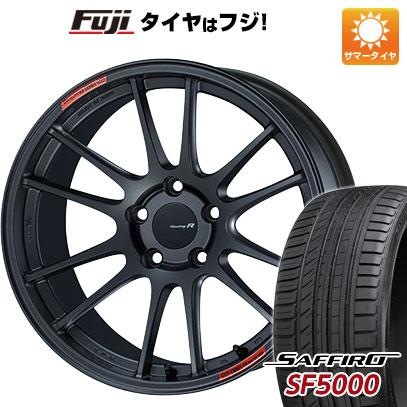 【送料無料】 235/40R18 18インチ ENKEI エンケイ GTC01 RR 8J 8.00-18 SAFFIRO サフィーロ SF5000(限定) サマータイヤ ホイール4本セット