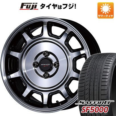 【送料無料】 205/50R16 16インチ CRIMSON クリムソン ホクトレーシング 零式S 6.5J 6.50-16 SAFFIRO サフィーロ SF5000(限定) サマータイヤ ホイール4本セット