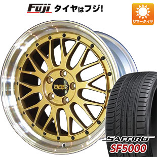 【送料無料】 225/40R19 19インチ BBS JAPAN BBS LM 8J 8.00-19 SAFFIRO サフィーロ SF5000(限定) サマータイヤ ホイール4本セット
