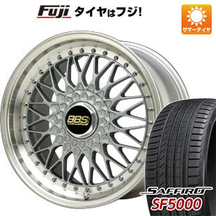 【送料無料】 245/45R20 20インチ BBS JAPAN BBS スーパーRS 8.5J 8.50-20 SAFFIRO サフィーロ SF5000(限定) サマータイヤ ホイール4本セット
