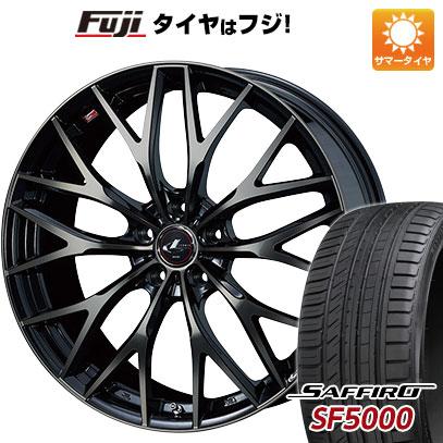 【送料無料】 205/55R16 16インチ WEDS ウェッズ レオニス MX 6.5J 6.50-16 SAFFIRO サフィーロ SF5000(限定) サマータイヤ ホイール4本セット