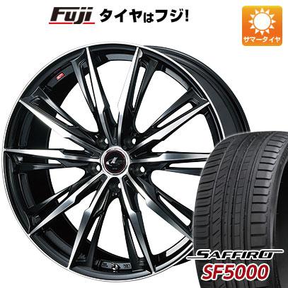 【送料無料】 245/45R20 20インチ WEDS レオニス GX 8.5J 8.50-20 SAFFIRO サフィーロ SF5000(限定) サマータイヤ ホイール4本セット
