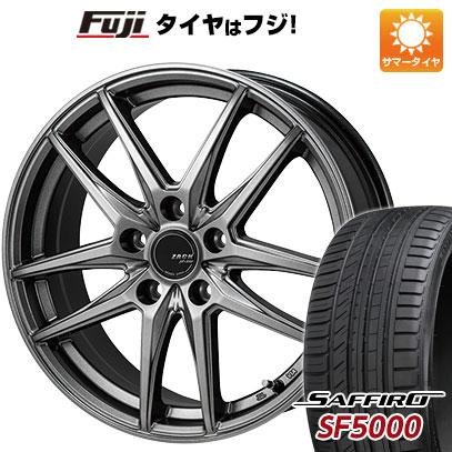 【送料無料】 235/45R18 18インチ MONZA ZACK JP-550 8J 8.00-18 SAFFIRO サフィーロ SF5000(限定) サマータイヤ ホイール4本セット