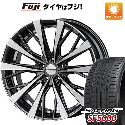【送料無料】 245/45R20 20インチ ROJAM ルカーラ 8.5J 8.50-20 SAFFIRO サフィーロ SF5000(限定) サマータイヤ ホイール4本セット