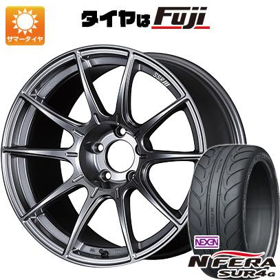 【送料無料】 235/40R18 18インチ SSR GTX01 8.5J 8.50-18 NEXEN ネクセン エヌフィラ SUR4G(限定) サマータイヤ ホイール4本セット