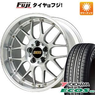【送料無料】 215/45R18 18インチ BBS JAPAN BBS RS-GT 7.5J 7.50-18 YOKOHAMA ヨコハマ エコス ES31 サマータイヤ ホイール4本セット【YOsum20】