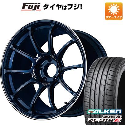 【送料無料】 225/45R18 18インチ YOKOHAMA ヨコハマ アドバンレーシング RZーF2 7.5J 7.50-18 FALKEN ファルケン ジークス ZE914F サマータイヤ ホイール4本セット