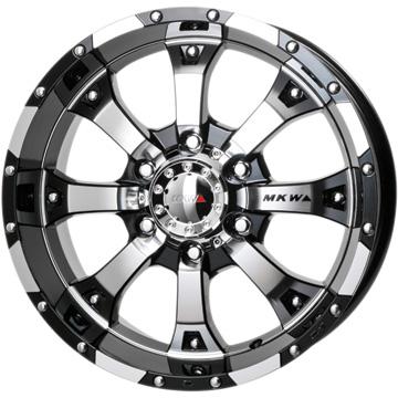 【送料無料】 MKW MK-46 ホイール単品4本セット 8.00-17 17インチ