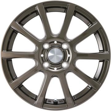 【送料無料】 165/65R14 14インチ カジュアルセット タイプB17 ブロンズ 5.5J 5.50-14 INTERSTATE インターステート ツーリングGT(限定) サマータイヤ ホイール4本セット