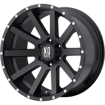 【送料無料】 KMC XDシリーズ XD818 ハイスト ホイール単品4本セット 8.00-18 18インチ