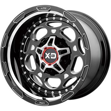 【送料無料】 KMC XDシリーズ XD837 デモドッグ ホイール単品4本セット 9.00-20 20インチ