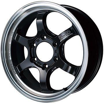 【送料無料】 YOKOHAMA アドバンレーシング RG-DII for HIACE ホイール単品4本セット 6.50-16 16インチ