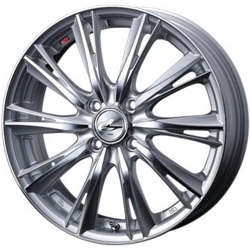【送料無料】 165/60R15 15インチ WEDS ウェッズ レオニス WX 4.5J 4.50-15 INTERSTATE インターステート ツーリングGT(限定) サマータイヤ ホイール4本セット