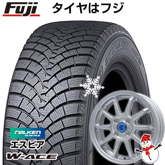 【送料無料】 FALKEN ファルケン エスピア W-ACE 175/70R14 14インチ スタッドレスタイヤ ホイール4本セット BRANDLE ブランドル M60 5.5J 5.50-14