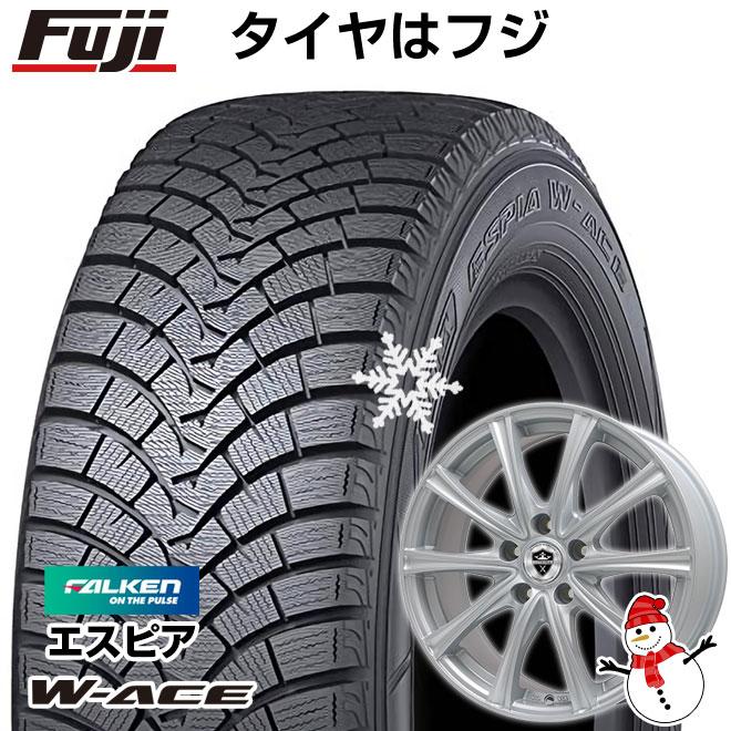 【送料無料】 FALKEN ファルケン エスピア W-ACE 165/55R15 15インチ スタッドレスタイヤ ホイール4本セット BRANDLE ブランドル ER16 4.5J 4.50-15