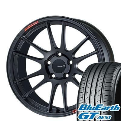 【送料無料】 225/40R18 18インチ ENKEI エンケイ GTC01 RR 7.5J 7.50-18 YOKOHAMA ヨコハマ ブルーアース GT AE51 サマータイヤ ホイール4本セット【YOsum19】