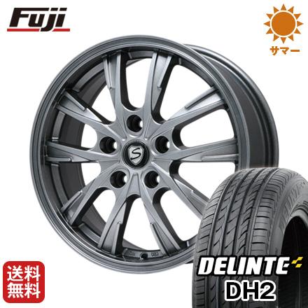 【送料無料】 205/60R16 16インチ BRANDLE ブランドル 486 6.5J 6.50-16 DELINTE デリンテ DH2(限定) サマータイヤ ホイール4本セット