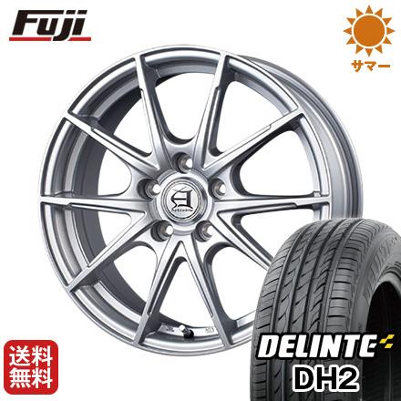 【送料無料】 215/60R16 16インチ TECHNOPIA テクノピア アフロディーテ JX 6.5J 6.50-16 DELINTE デリンテ DH2(限定) サマータイヤ ホイール4本セット