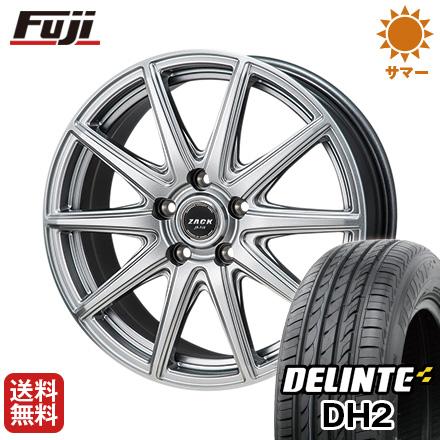 【送料無料】 235/45R18 18インチ MONZA モンツァ ZACK JP-710 8J 8.00-18 DELINTE デリンテ DH2(限定) サマータイヤ ホイール4本セット