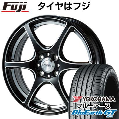 送料無料 195 55R16 16インチ YOKOHAMA ブルーアース GT AE51 サマータイヤ 取付対象 PROレーサーDF-V6 ゴジゲン 激安通販 5ZIGEN ヨコハマ クーポン対象 未使用 ホイール4本セット 6.5J 6.50-16