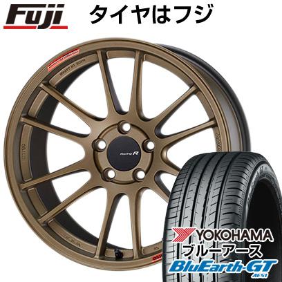 送料無料 225 50R18 記念日 18インチ YOKOHAMA ブルーアース GT AE51 サマータイヤ ホイール4本セット 新品未使用 クーポン対象 ENKEI RR F60 輸入車 取付対象 チタニウムゴールド MINI エンケイ 8J 8.00-18 GTC01