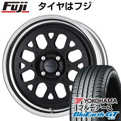 送料無料 215 40R18 18インチ YOKOHAMA ブルーアース GT AE51 サマータイヤ ホイール4本セット GX 店舗 ショッピング ワーク ヨコハマ WORK 7.5J シーカー 7.50-18 クーポン対象 取付対象