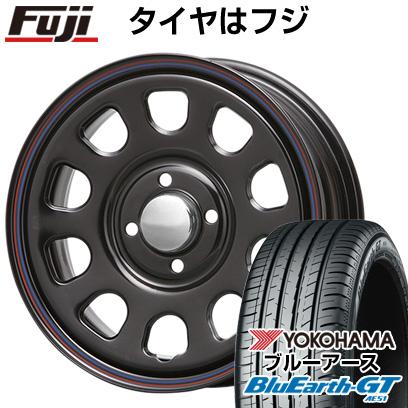 【送料無料】 155/65R14 14インチ MLJ デイトナSS 5J 5.00-14 YOKOHAMA ヨコハマ ブルーアース GT AE51 サマータイヤ ホイール4本セット【YOsum20】