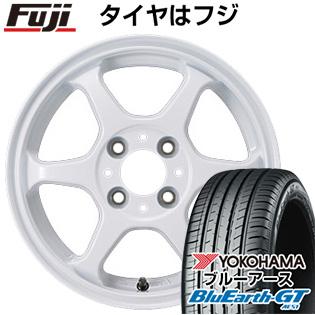 【送料無料】 155/65R14 14インチ カジュアルセット タイプL 2. 4.5J 4.50-14 YOKOHAMA ヨコハマ ブルーアース GT AE51 サマータイヤ ホイール4本セット【YOsum20】