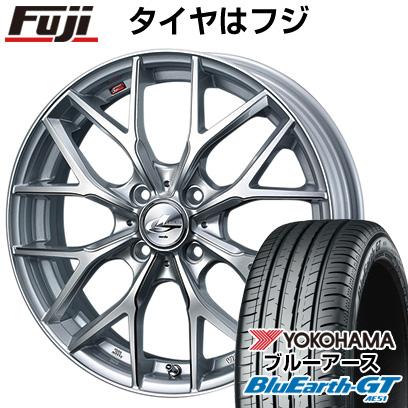 送料無料 165 55R15 15インチ YOKOHAMA ブルーアース GT AE51 サマータイヤ ホイール4本セット ウェッズ ヨコハマ MX 美品 4.50-15 取付対象 クーポン対象 レオニス 4.5J WEDS 新発売