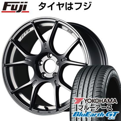 【送料無料】 195/55R16 16インチ SSR GTX02 6.5J 6.50-16 YOKOHAMA ヨコハマ ブルーアース GT AE51 サマータイヤ ホイール4本セット【YOsum20】