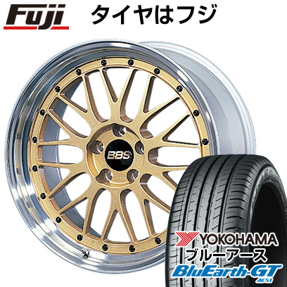 【送料無料】 225/40R19 19インチ BBS JAPAN BBS LM 8J 8.00-19 YOKOHAMA ヨコハマ ブルーアース GT AE51 サマータイヤ ホイール4本セット【YOsum20】