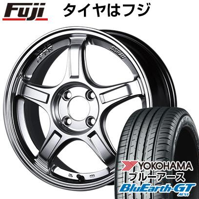 【送料無料】 165/55R15 15インチ SSR GTX03 5J 5.00-15 YOKOHAMA ヨコハマ ブルーアース GT AE51 サマータイヤ ホイール4本セット【YOsum20】