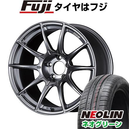 【送料無料】 185/55R15 15インチ SSR GTX01 6J 6.00-15 NEOLIN ネオリン ネオグリーン(限定) サマータイヤ ホイール4本セット