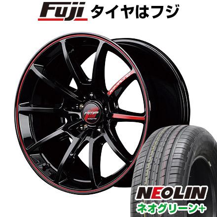 【送料無料】 195/55R16 16インチ MID RMP レーシング R25 6J 6.00-16 NEOLIN ネオリン ネオグリーン プラス(限定) サマータイヤ ホイール4本セット