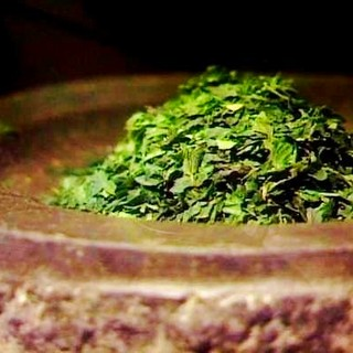 Tencha, matcha tea leaf before grinded.cyouan 80 g can
