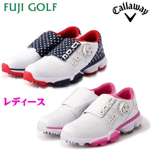ゴルフ レディースシューズCallaway キャロウェイHYPERCHEV BOA WM20 (WOMENS) 247-0983800ハイパーシェブ ボア 2019年モデル