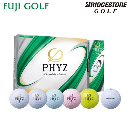 飛びのアーチスト 店内限界値引き中 セルフラッピング無料 ゴルフ ボールBRIDGESTONE セール 登場から人気沸騰 GOLF ブリヂストン 1ダース2019年モデル ファイズゴルフボール ゴルフPHYZ