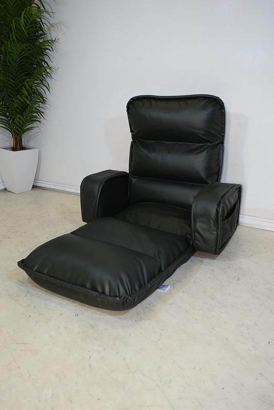 収納簡単低反発もこもこ座椅子 ダークグリーン 新品 B31.2.21.3.8-10.Y.R