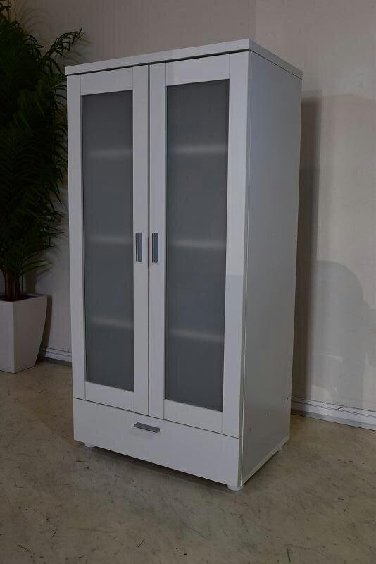 コンパクト食器棚 ホワイト(その2) 新品 B30.3.30.1.5-7.Y.R31.2.26