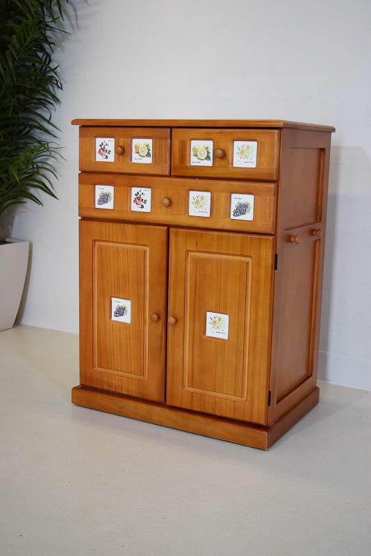 南欧風キッチンカウンター ライトブラウン B31.4.3.3.15-19.Y.R