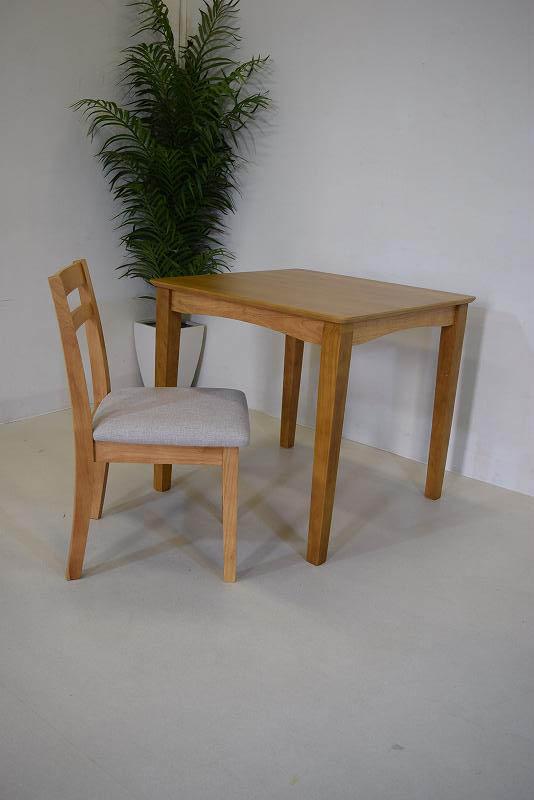 ダイニングテーブル2点セット ブラウン B1.9.1.1.5-7.Y.R