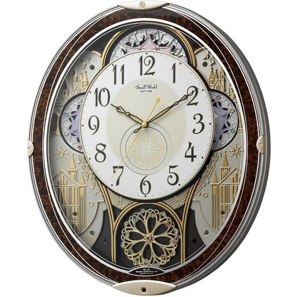 CITIZENリズム時計掛時計スモールワールドスモールワールドノエル電波時計 4MN539RH23