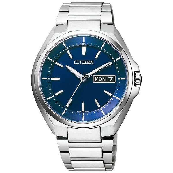 シチズン腕時計 ソーラー電波時計 アテッサAT6050-54L