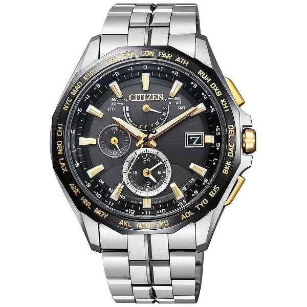 シチズン腕時計ソーラー電波時計アテッサダイレクトフライト針表示式AT9095-50E