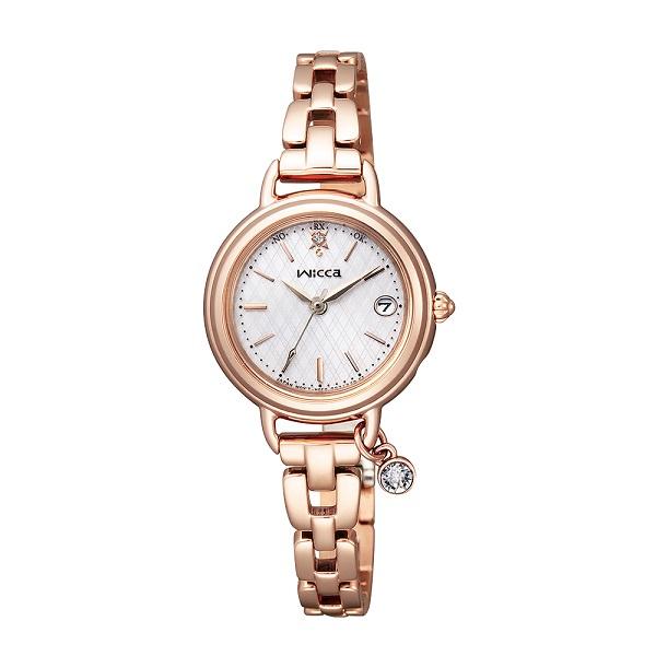 シチズン腕時計 ウィッカ ソーラー電波時計 ブレスラインKL0-529-31